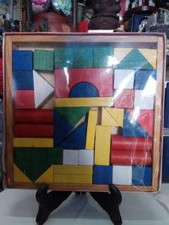 兒時玩具 一 彩色積木