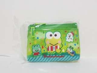 正版 Sanrio Kerokerokeroppi雙層小袋