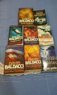 David Baldacci novels
