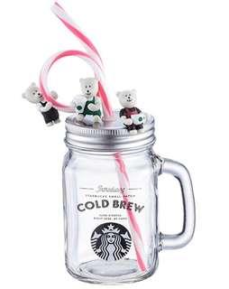 Authentic Starbucks Taiwan Glass Mug