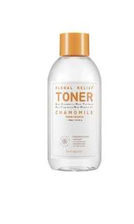 Huangjisoo floral relief chamomile toner