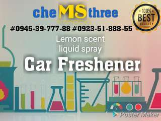 Liquid Car Freshener ( 1 U.S. gallon )