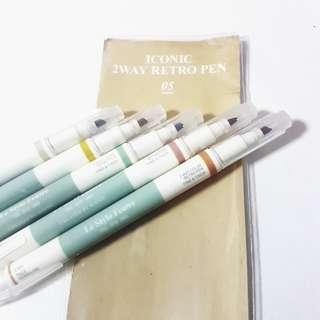 5 colours retro iconic pen