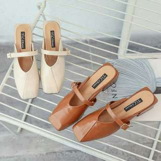 🍃Closed Strapped Sandal