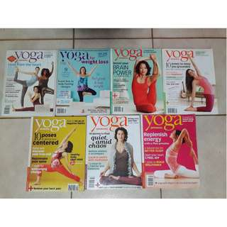 Yoga Journal 2011 issues