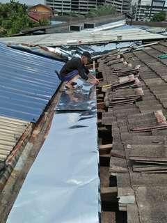 Waterfropin roofleaking