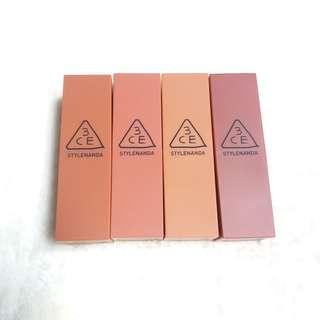 3CE:Mood Recipe Matte Lipstick