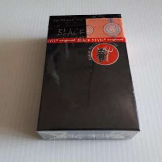 Black Devil Brand Special Sealed Black Filter Vintage