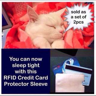 Credit card protector / protection sleeve (RFID anti-scan [anti-theft]) [uncle anthony] FOR MORE PICS & DETAILS, 👉 http://carousell.com/p/130062042