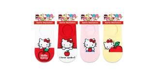 全新韓國直送船袜 Hello Kitty襪$100/8對 $50/3對 $20/對