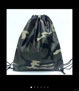 Camouflage Drawstring Bag Waterproof