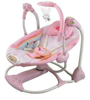 Swing to seat chair for newborn baby