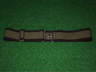 Ladies adjustable elastic belt