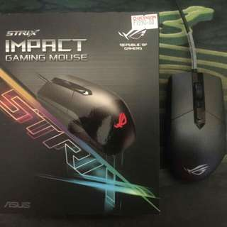 Strix impact gaming mouse(aura sync)