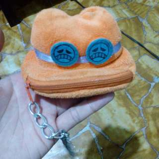 One Piece Ace's Hat Coin Purse