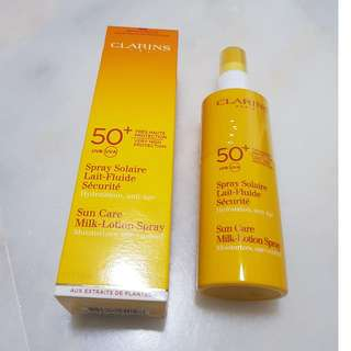 Clarins Sun Care Milk-Lotion Spray
