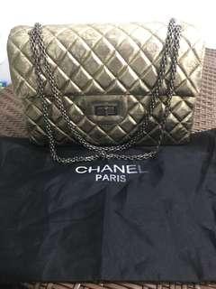 Chanel gold bag