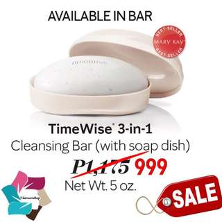 TimeWise 3-in-1 Cleansing Bar