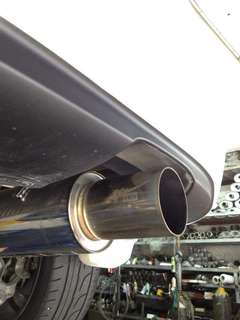 HKS exhaust/muffler for Honda Civic