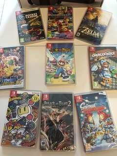WTS/WTT- Nintendo Switch Games (Brand New)
