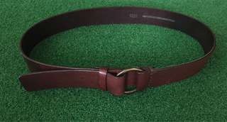 Seed leather belt