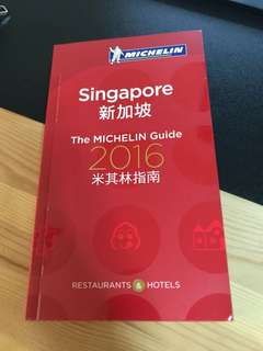 Singapore the Michelin Guide 2016
