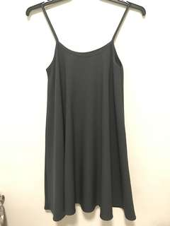 ✨[INSTOCK] 3 FOR $33 grey flowy dress