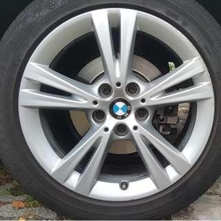 BMW original 17 rims f46