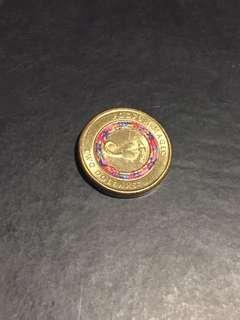 Possum Magic $2 Coin