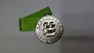 KEROKEROKEROPPI青蛙仔 90年銀色奖牌