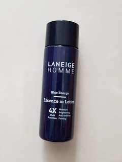 New 25ml Laneige Homme Blue Energy Essence in Lotion