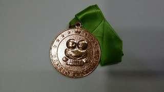 KEROKEROKEROPPI青蛙仔 90年銅色奖牌