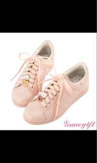 BNIB Gracegift pink charm sneakers shoe size 41