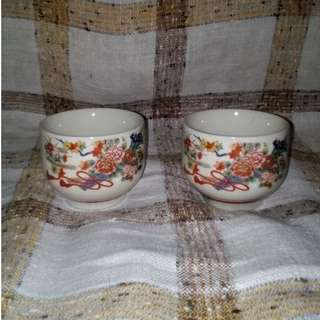 Chinese Ceramic Cup Set