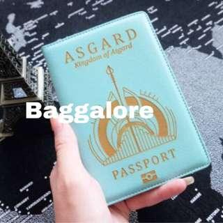 Asgard wakanda passport cover