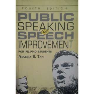 Public Speaking and Speech Improvement for Filipino Students