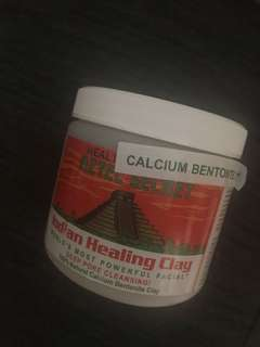 Indian Healing Clay from Healthy Options