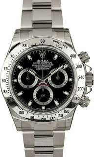 ROLEX 116520 BLACK DAYTONA (全套,100% NEW, 亂碼)
