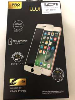 screen protector (Tempered glass) for Iphone 8/7 plus