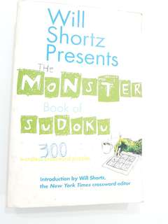 The Monster Book of Sudoku by Will Shortz