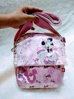Tas Disney Minnie mouse Pink Branded original import Authentic Shoulder Bags Girl cute