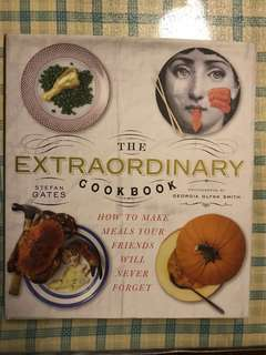 [Hardcover New] The extraordinary cookbook - how to make meals your friends will never forget