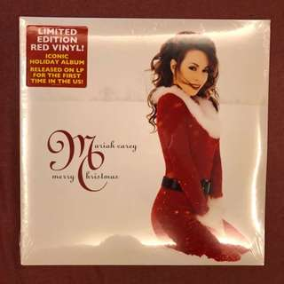 "NEW VINYL: Mariah Carey ""Merry Christmas"" (Red Vinyl, US)"