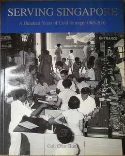 Book - History of Cold Storage