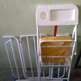 Baby Chair and safety baby gate