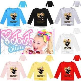 PO Jojo Siwa Long Sleeve tee