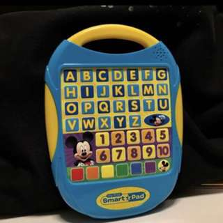 Mickey Mouse Electronics Pad with 6 story books