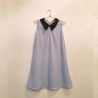 *LOWERED PRICE* UNBRANDED Sleeveless Dress with Collar