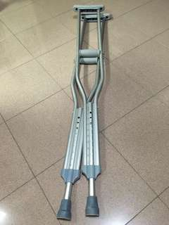 Pair of Crutches Used Once