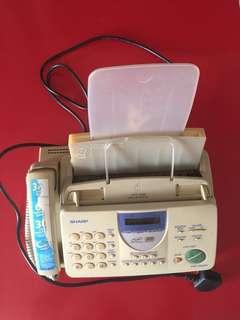 Telephone cum  fax